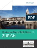 Opalesque Zurich Roundtable - Essential updates for hedge funds and investors