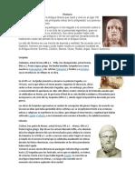 biografia de filosos escuelita tarde
