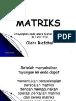 Episode 8 Perkalian n Invers Matriks