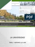 Tmeu 001 La Universidad p1
