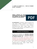 1 - MANDADO DE SEGURANCA COM TUTELA.doc