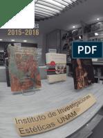 Catalogo Publicaciones 2015 2016