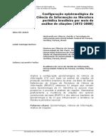 Arboit, A.e.; Bufrem, l.s.; Freitas, j.l. Configuração Epistemologica Da Ci
