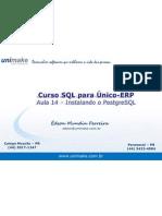 Curso SQL - Unico - Aula14 - Instalação do PostgreSQL
