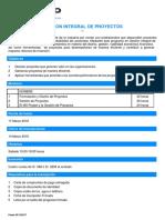 Temario Gestión Integral de Proyectos (1)