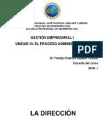 UIII 04 Gestión Empresarial I