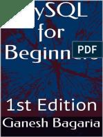MySQL for Beginners - Ganesh Bagaria.pdf