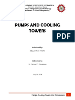 Pumps and Cooling Towers