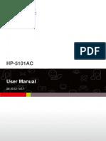 HP-5101AC User Manual English