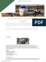 Accelerated Airline Transport Pilot (ATP) Training - Protocom Aviation