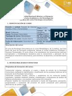 Syllabus Del Curso Psicología Comunitaria