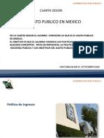 gasto publico en mexico