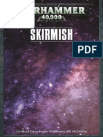 Warhammer 40K 8th Skirmish 1.0
