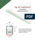 Simulacion de un reactor en aspen plus (tutorial)
