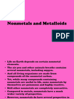 Nonmetal and Metalloid