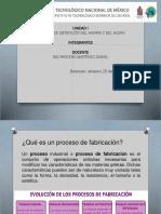 Unidad 1 Proceso de Fabricacion Del Hierro y Acero