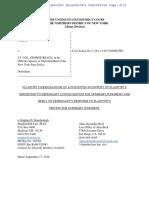 Avitabile Response to Defendant Motion for Summery Judgement