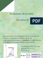 Ecuaciones de La Recta1 (1)
