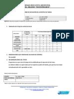 informe  de política de tareas