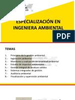 Principios de La Gestión Ambiental