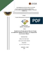 Producción Maxima de Fibra de Vicuña- SEIGA 2018- Curso Gestion Mediaomabiental en Ind. Mineras