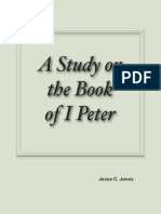 A Study on the Book of I Peter by Jesse C. Jones