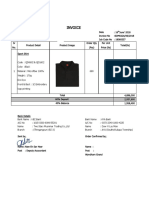 20180616 _ SOM022A Wyndham Grand Sport Shirt Deposit Invoice