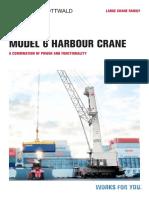 Model 6 Harbour Crane