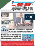 Periódico Lea Martes 18 de Septiembre Del 2018