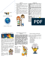 folleto ciencias natyrales