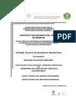 Informe Técnico de Residencia Profesional Gregorio Velázquez