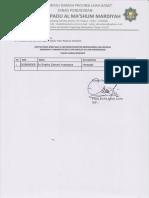 Lammpiran Sk Penetapan Dan Rekomendasi Kcd Pd Baru Asal Mts(Smat Al Mashum)