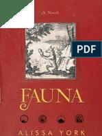 Fauna by Alissa York (Excerpt)