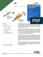 IP150BFT420W Seametric Water Flow Meter