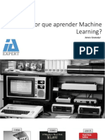 Por Que Aprender Machine Learning