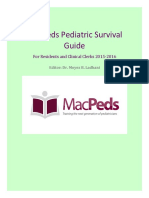 Mac Peds Survival Guide