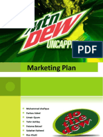 19422658 Marketing Plan on Mountain DEW