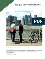 25 Cosas Para Hacer en New York