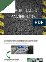 Durabilidad de Pavimentos