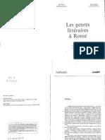 Drop Les Genres Litteraires a Rome RR