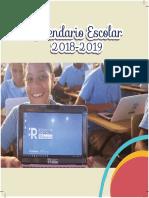 Calendario Escolar minerd 2018-2019 República Dominicana