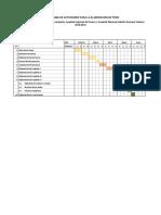 Cronograma de Actividades Para La Elaboración de Tesis