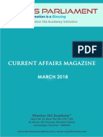 Current Afffairs March 2018 Www.iasparliament.com
