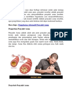 Pengobatan Alternatif Untuk Penyakit Asma Atau Sesak Nafas