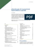 Kinesiterapia de La Gonartrosis Femorotibial No Operada