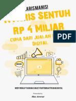 Ebook Laris Manis! Nyaris Sentuh Rp. 4 Miliar Cuma dari Jualan Produk Digital.pdf