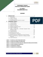 Vol. I - Resumen Ejecutivo
