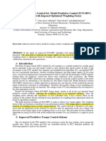 [34] An improved Finite Control Set-Model Predictive Control (FCS-MPC) algorithm with imposed optimized weighting factor.pdf