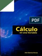 Cálculo en Una Variable - Joe García Arcos-FREELIBROS.org