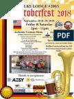 Oktoberfest Flyer 2018 Final Updated for Printing